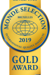 Monde Selection - Gold Quality Award 2019